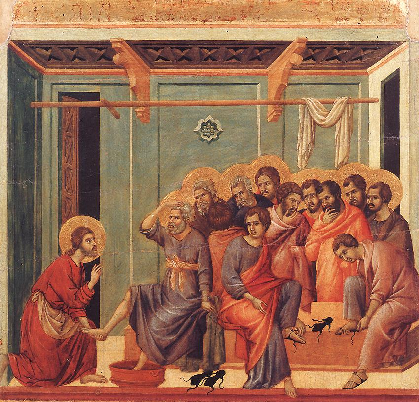 gospel of john foot washing