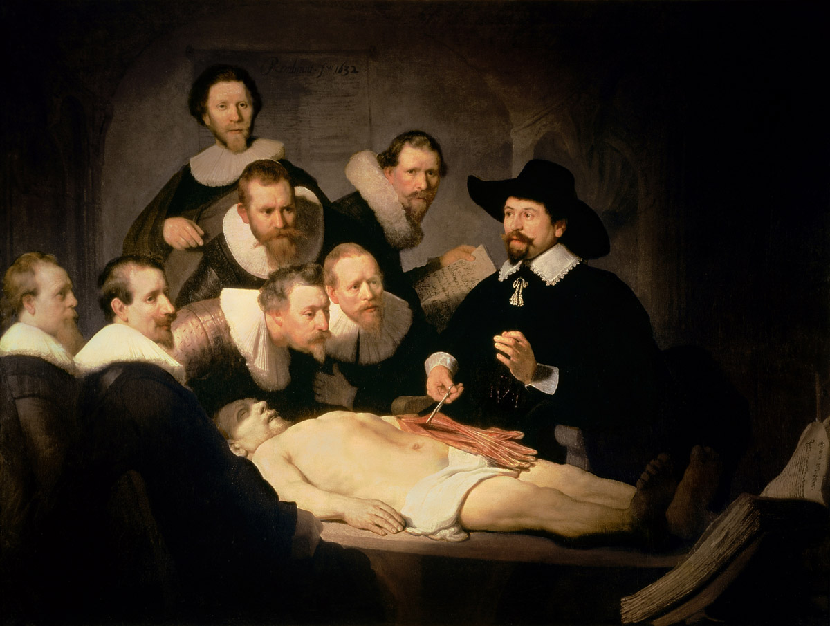 The Anatomy Lesson of Dr. Nicolaes Tulp - community.artauthority.net