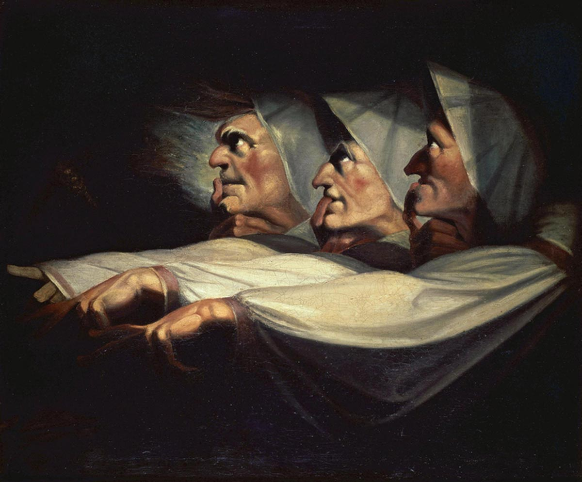 an analysis of three witches in macbeth by william shakespeare In the play macbeth by shakespeare the three female witches play an important part in the development of the story this essay will analyze the dramatic function of the witches in act i of macbeth i think that the reason that shakespeare begins the play with the witches is to gives us the impression that everything starts with the witches.