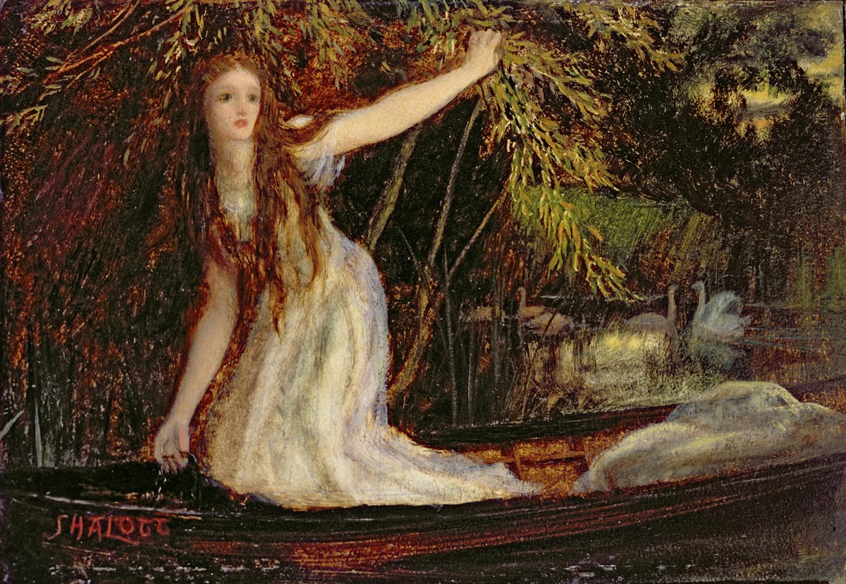 lady of shalott condradictions analysis 'the lady of shalott' by alfred lord tennyson is a poem about pursuing your  hopes and dreams by taking chances no matter how trapped you think you are.