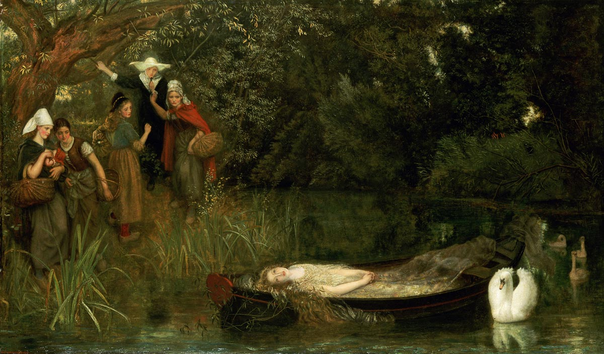 analysis of the lady of shalott