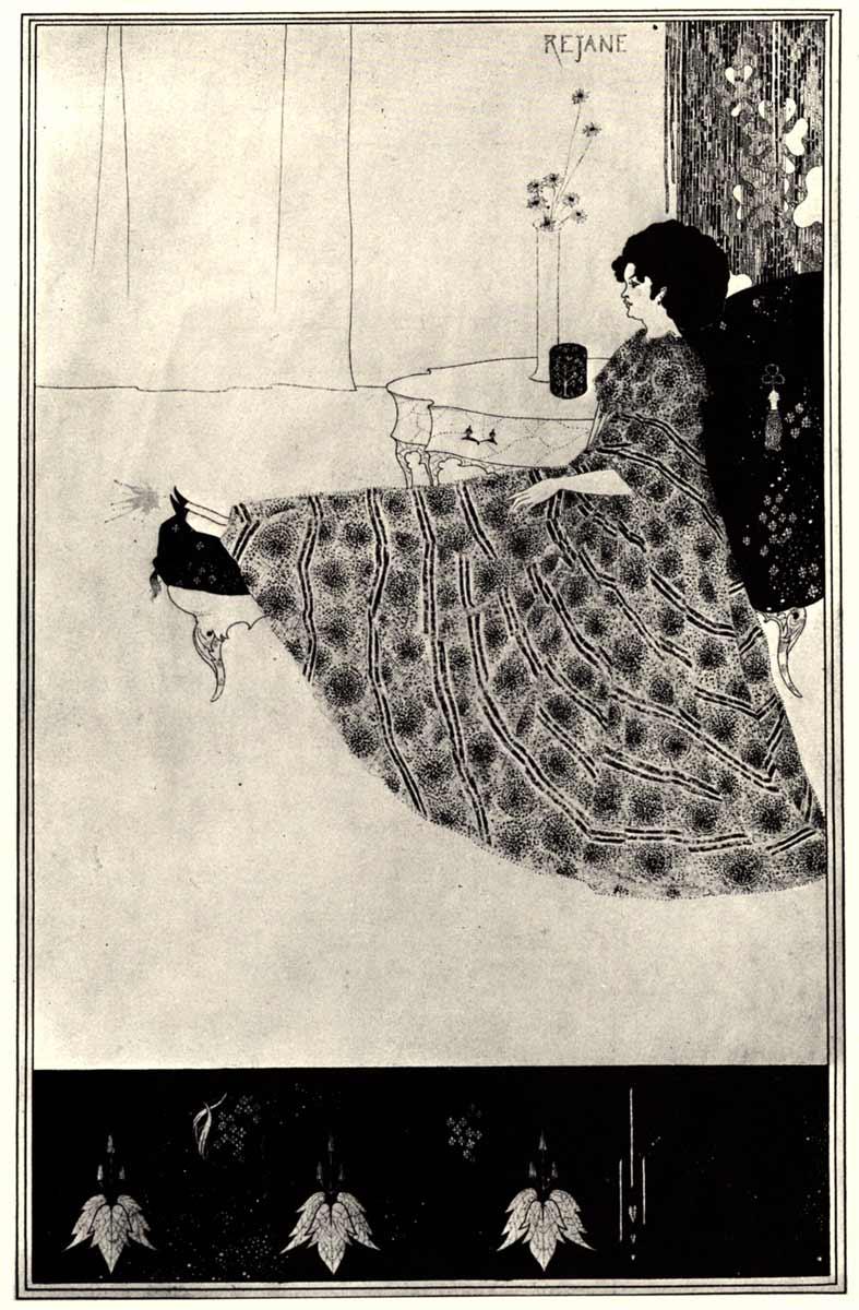 Иллюстрация о бердслея к пьесе оскара уайльда саломея