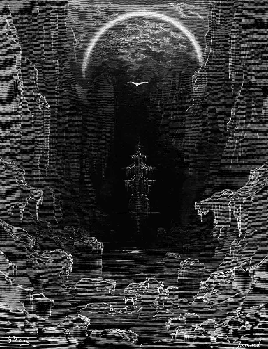 The appearance of the albatross to lead the marooned ship out of the appearance of the albatross to lead the marooned ship out of the frozen seas of antarctica from the rime of the ancient mariner biocorpaavc Images