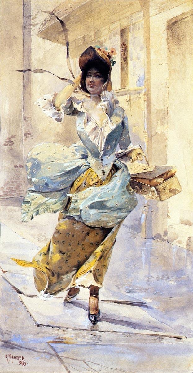 Maurer, Alfred Henry