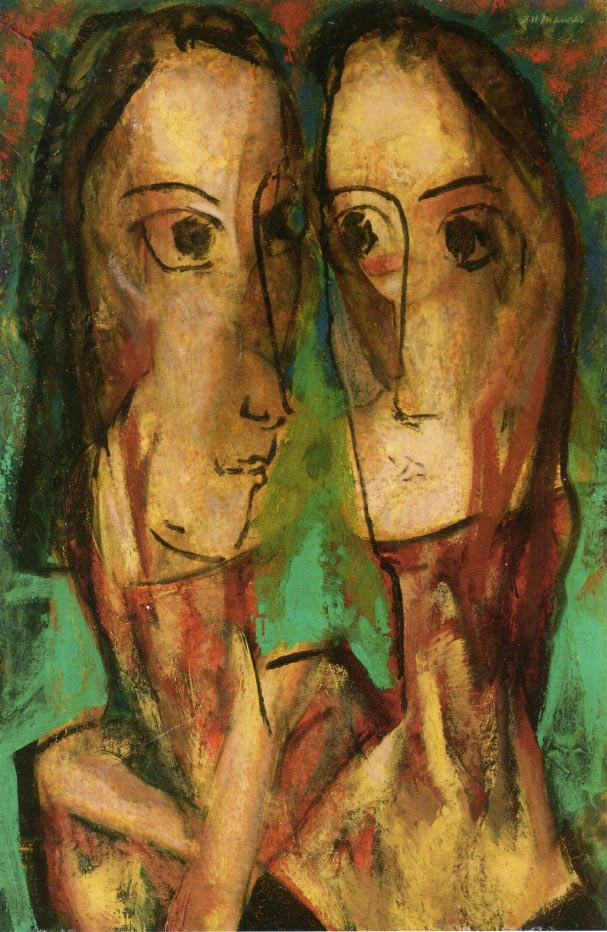 a comparison of the artworks buckleys bridge by alfred henry maurer and across the universe by the b The scream by edvard munch (1893), which inspired 20th-century expressionists expressionism was a modernist movement , initially in poetry and painting , originating in germany at the beginning of the 20th century.